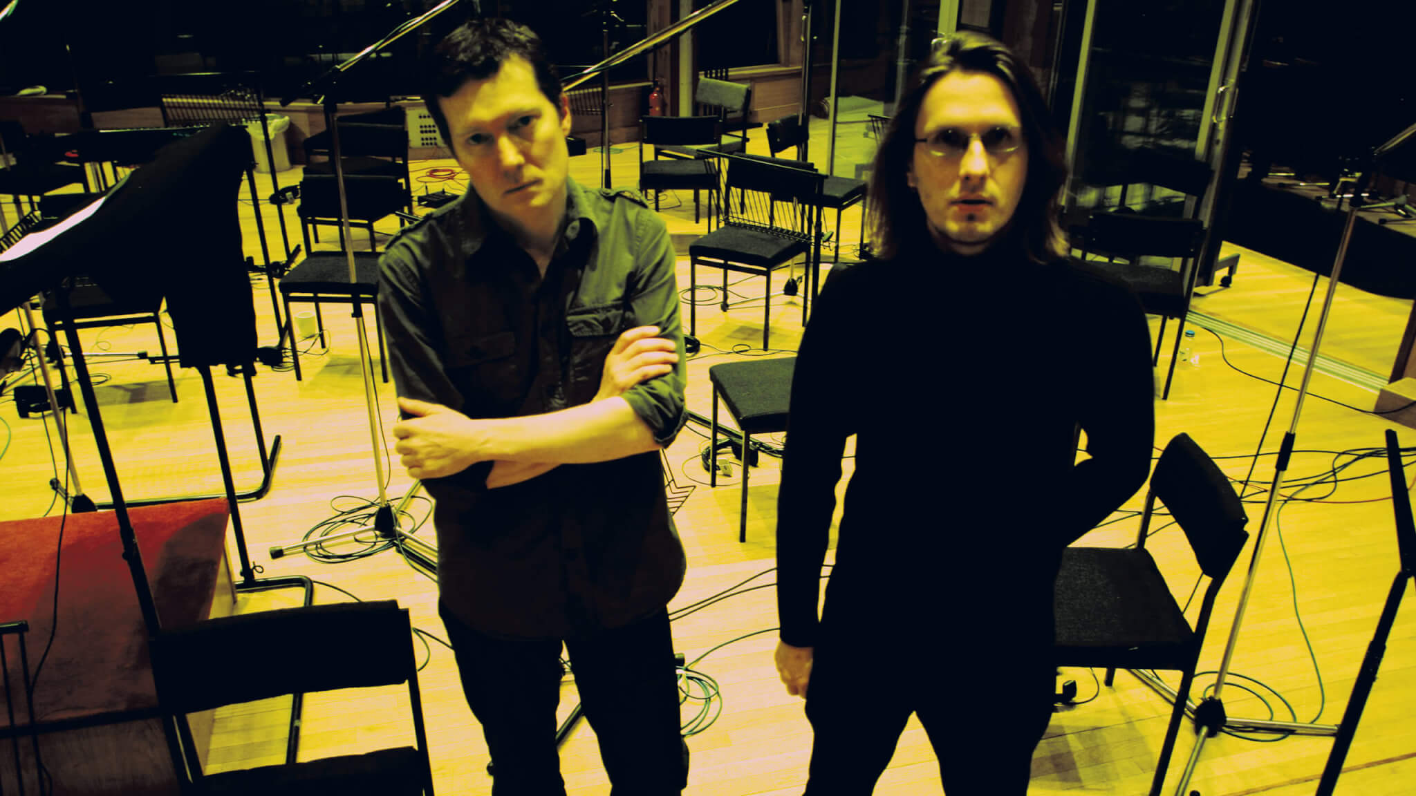 No Man The Official Website Of Duo Steven Wilson And Tim